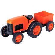 Tracteur + remorque écologique