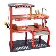 Caserne de pompier en bois