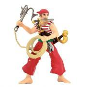 Figurines pirates et corsaires - Lot de 8