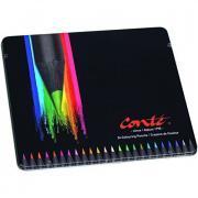 Crayons de couleur assortis - Boite de 24