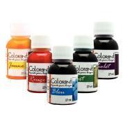 Colorant liquide pour bougie - Lot de 5 flacons