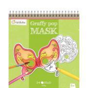 Carnet de coloriage -  Graffy Pop Mask Venezia