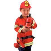 """Déguisement """"pompier"""" + accessoires"""
