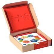 """Boîte de 24 fiches d'activités pour code 24539 """"Jeu d'équilibre fleurs géométriques"""""""