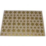 Gommettes étoiles Or métalisées - Pochette de 672