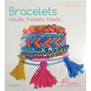 Livre Bracelets noués, tressés, tissés