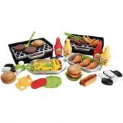 Barbecue de luxe Burger + Hot Dog, 79 pièces