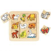 Puzzle de 9 pièces où est mon petit?