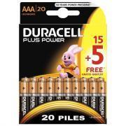 Piles plus Power 1.5v LR03 - Blister de 15 + 5