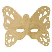 Masques papillon en carton - Lot de 6