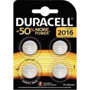 Piles lithium 3V CR2016 DURACELL - Blister de 4