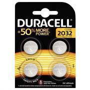 Piles lithium 3V CR2032 DURACELL - Blister de 4