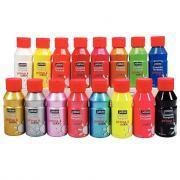 Gouache liquide PRIMA COLOR - Carton de 16 flacons de 150ml