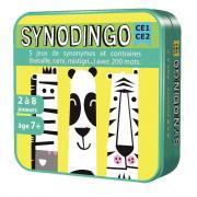 Asmodee - Jeu de société - Synodingo CE1 - CE2