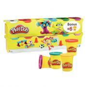 Pâte à jouer extra souple - Classpack de 12 pots 113 grammes Play-doh dont 6 gratuits