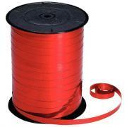Bolduc lisse - 250mx7mm - Rouge métallisé