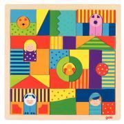Puzzle de 43 pièces mosaïques en bois, LA FERME