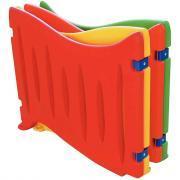 Barrières en plastique 120x92cm - Lot de 4