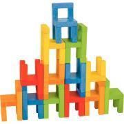 Les chaises en équilibre 24 pièces