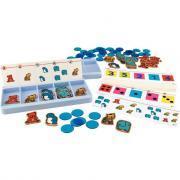 Atelier boîtes à compter NIVEAU 1 pour 2 enfants
