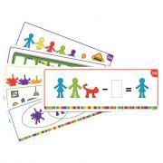Set de 22 cartes d'activités pour le code 24730