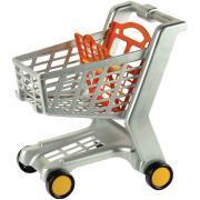 Chariot de supermarché en plastique