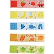 Puzzle association des couleurs, 20 pièces