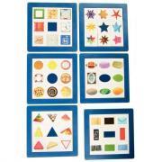 Puzzle en plastique découvrir les formes - Lot de 6