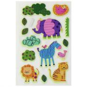Stickers 3D phosphorescents baby - Sachet de 47