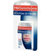 Patch bouton de fièvre des Laboratoires Mercurochrome® - Boite de 15