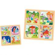 Puzzle, les contes n°2 - Lot de 2