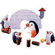 Atelier créatif de 25 pingouins en cellulose