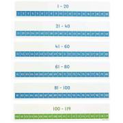 Set de 48 cartes nombre de 1 à 120