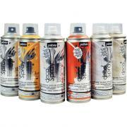 Pebeo - Spray 200ml de peinture acrylique - Lot de 6