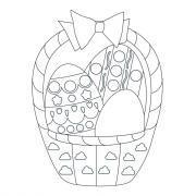 Formes de Pâques à colorier et à sticker à l'aide des gommettes géométriques - Pochette de 20