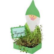 Jardinières en carton + bacs en plastique - Paquet de 6