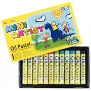 Craies pastels à l'huile Mini Artist - Boite de 12