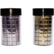 Mosaïque en verre couleur argent - Pot de 250 grammes