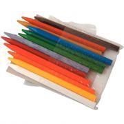 Crayons de couleur en plastique - Pochette de 12