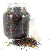 Perle rocaille transparente - Sachet de 500g