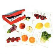Mallette de 50 cartes-images - Les aliments
