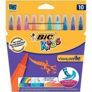 Feutres pinceaux Visaquarelle - Lot de 12 pochettes de 10 + 1