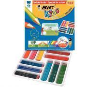 Crayons de couleur Evolution (Spécial école) - Class pack de 144