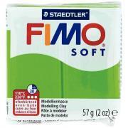 Pâte à modeler Fimo Soft, 57 grammes, vert pomme