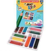 Crayons de couleur Evolution triangulaires (Spécial école) - Classpack de 144