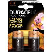Piles 1,5V LR14 Duracell Plus Power - Blister de 2