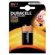 Pile 9V 6LR61 Duracell Plus Power