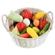 Légumes en plastique - Petit modèle - Sachet de 24