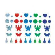Gommettes holographiques - Sachet de 575