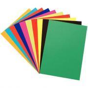 Papier dessin couleur 24x32 cm - 250g - Paquet de 100